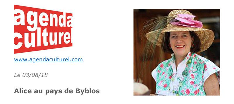 Alice au pays de Byblos